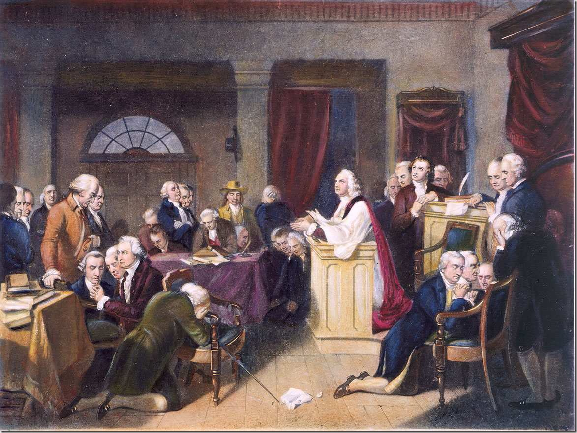 founders praying