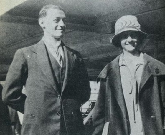 Arthur and Vera Pink in Sydney-July 28, 1924-Edited
