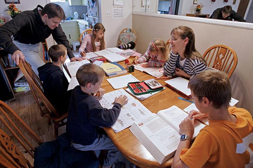 German Homeschool Family