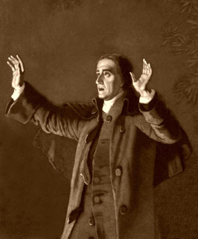 Frontier Preacher, Christian Schussele