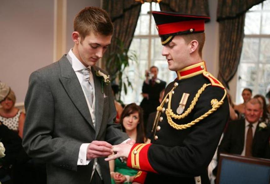 Marine-gay-wedding