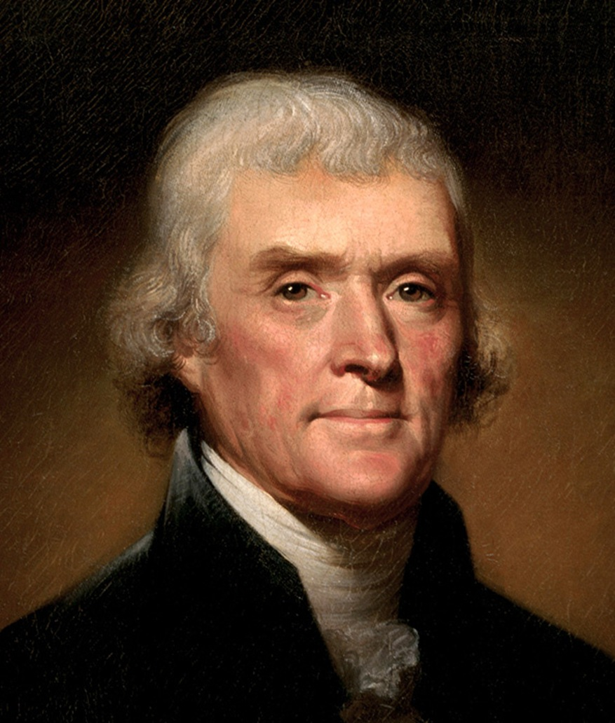 Thomas Jefferson by Rembrandt Peale 1800